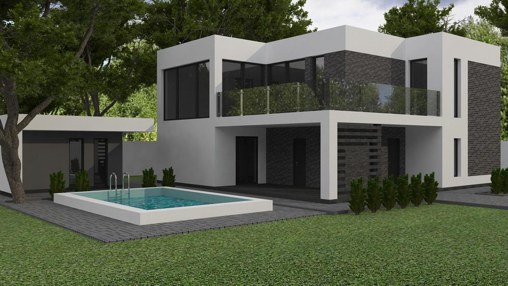 Design exterior fațadă casă