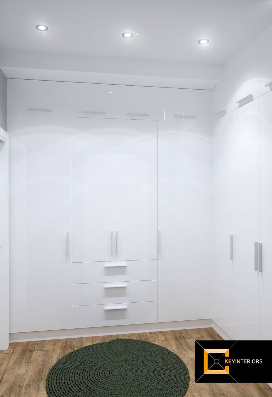 Design interior, cameră, garderobă