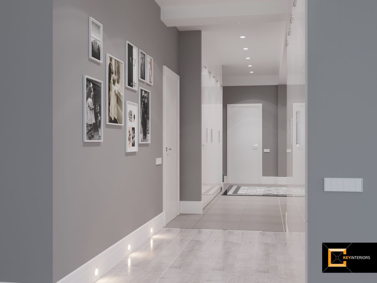 Design interior, hol,  pardosea