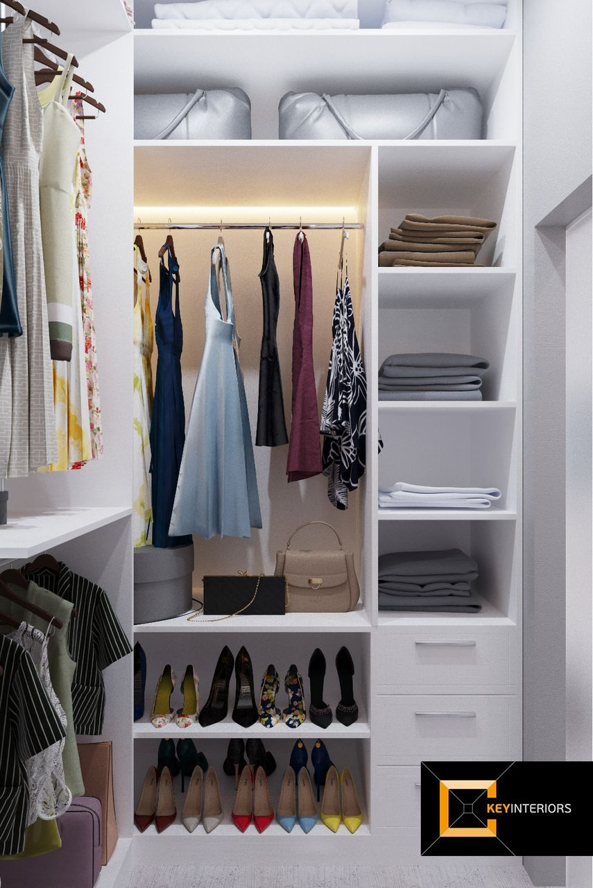 Design interior, garderobă