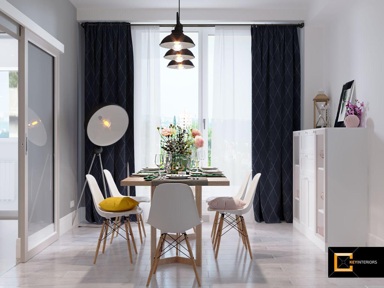 Design interior, sufragerie, mobilă