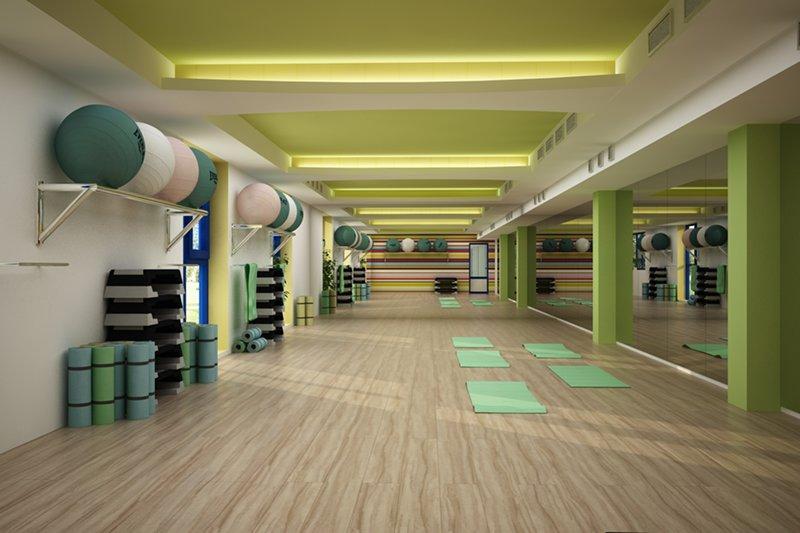 Sala de fitness - Yelow