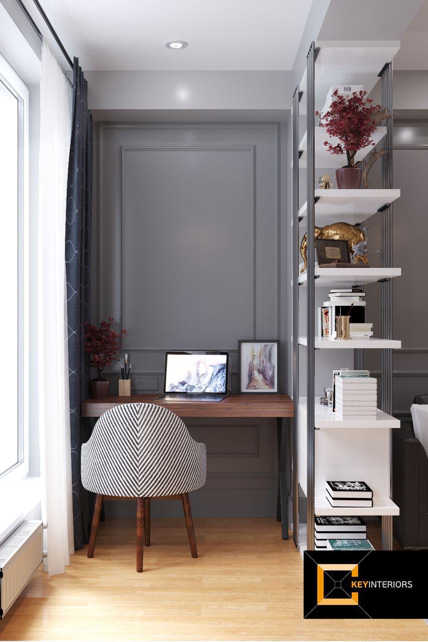 Design interior, cabinet, casă