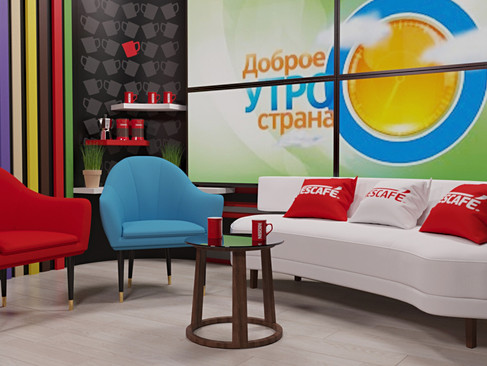 Emisiunea matinala TV - Dobroe Utro Strana RTR
