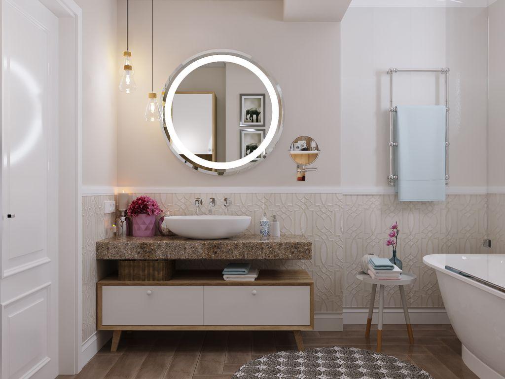 Lavuar cu oglindă Ovirro