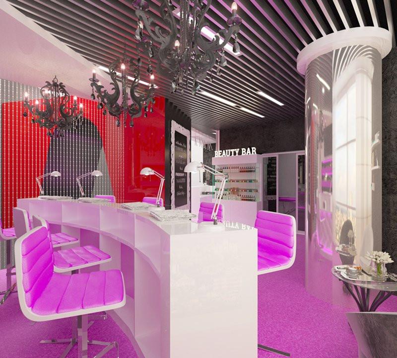 Design interior spatii comerciale