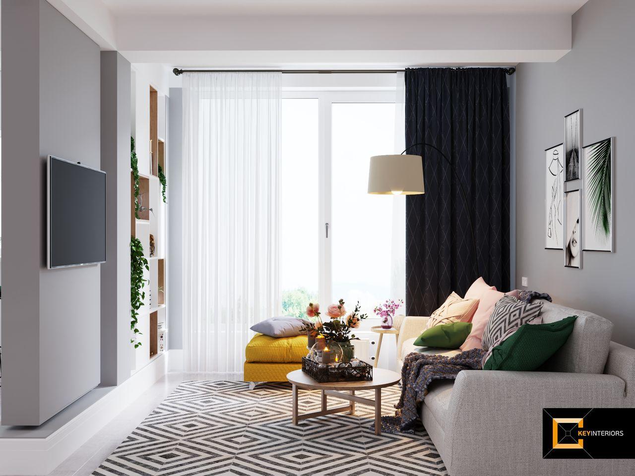 Design interior, covor, canapea,