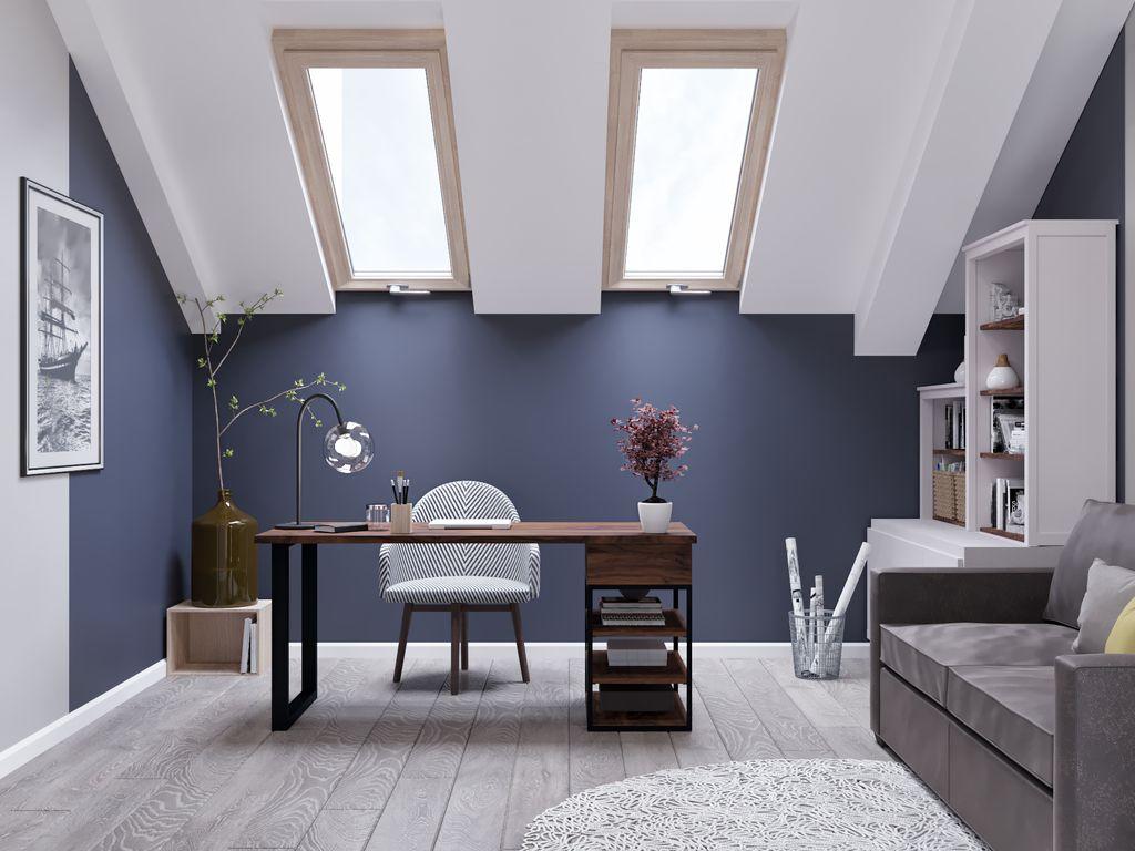 Cameră oficiu stil loft