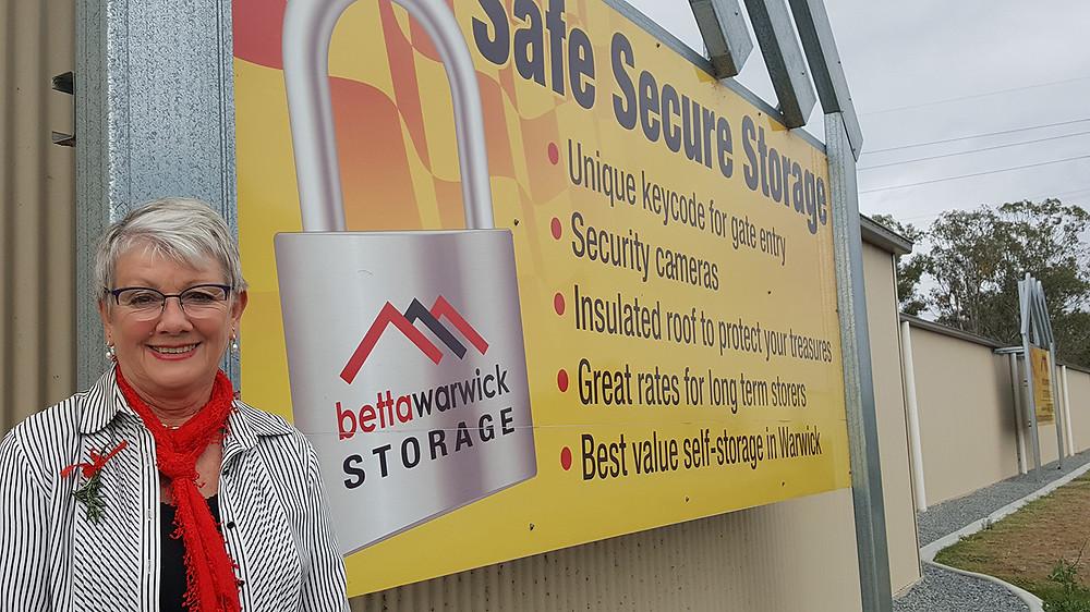 Yve Stocks of Warwick Betta Storage