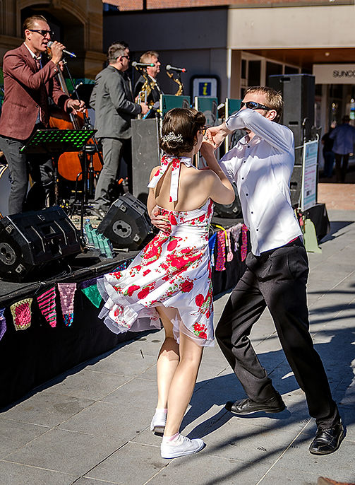 River City Aces and Empire Swing Dancers