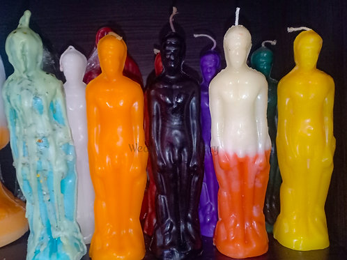 Male Figurine Candle