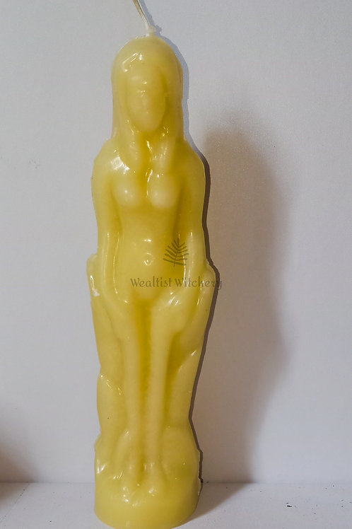 Female Figurine Candle