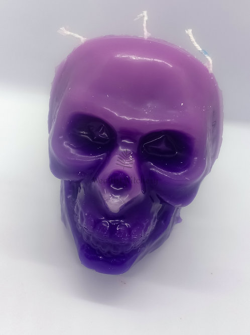 Large Beewax Skull Candle
