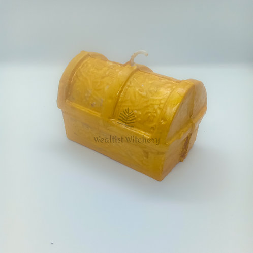 Treasure Chest Candle