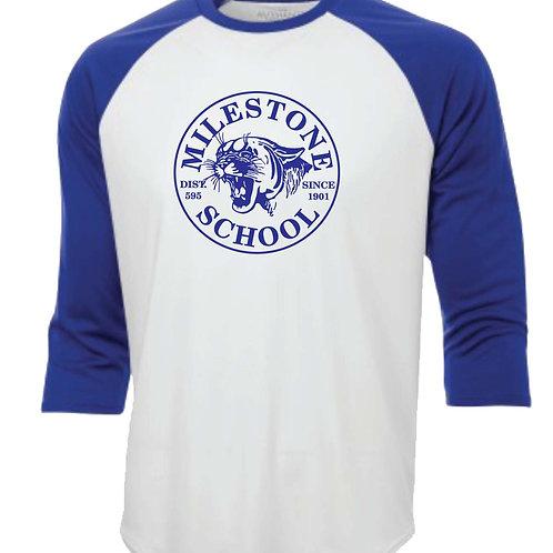 MILESTONE - ATC  3/4 BASEBALL  SHIRT