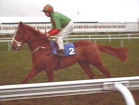 1st time on the racetrack 8th Nov 2002,