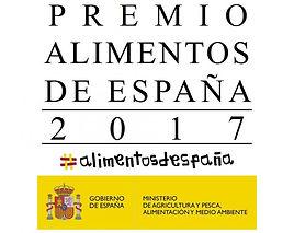 Premio Alimentos de España 2017