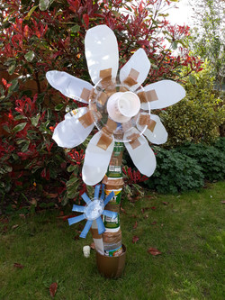 Lucy Oliver WILD recycled art