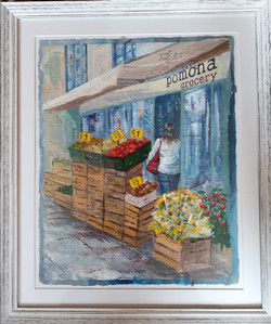 Pomona Grocery, Shrewsbury (framed)