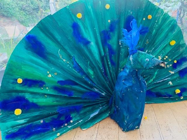 Lottie Harwood WILD recycled art