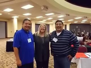 Jodi Dilascio with Pawnee Members October 2014