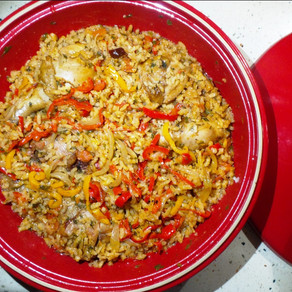 One-Pot Spiced Rice with Capsicum