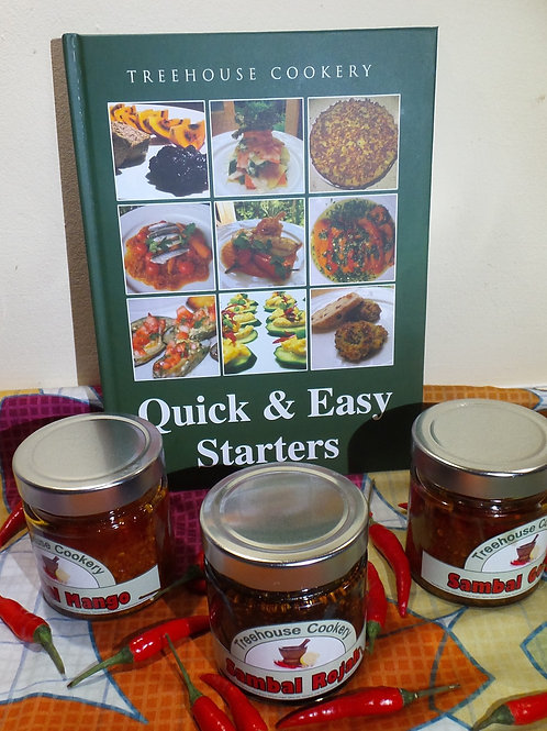 Quick & Easy Starters Cookbook Combo Pack