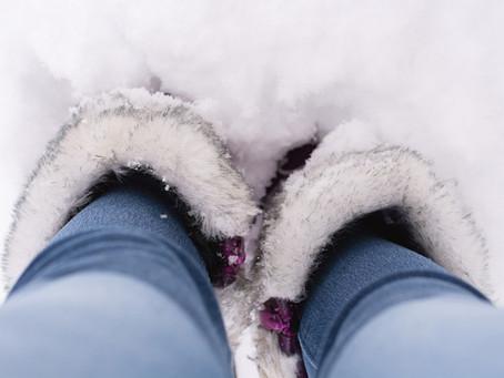 Что делать, если даже в зимней обуви мёрзнут ноги? Из собственного опыта.