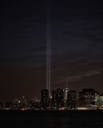 9/11 Memorial from Long Island City - 2016