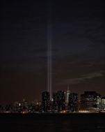 9/11 Memorial from Long Island City - 2016