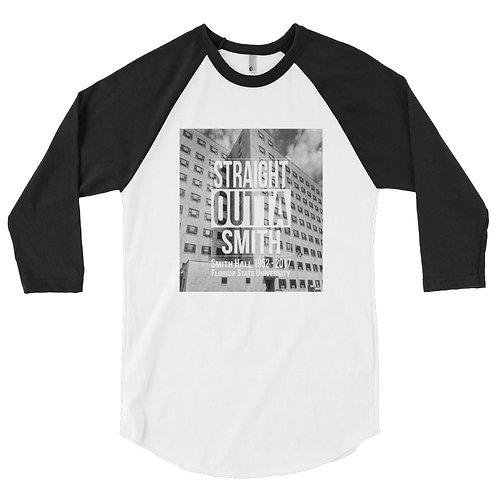 Straight Outta Smith 3/4 sleeve raglan shirt