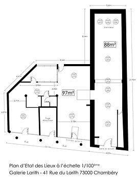Plan Espace Larith Chambéry