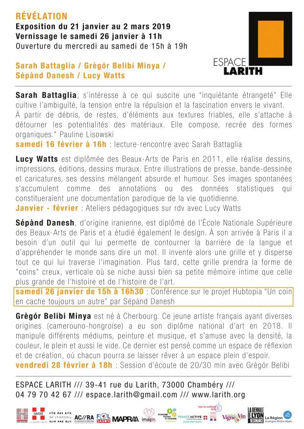 Revelation - Espace Larith 2019