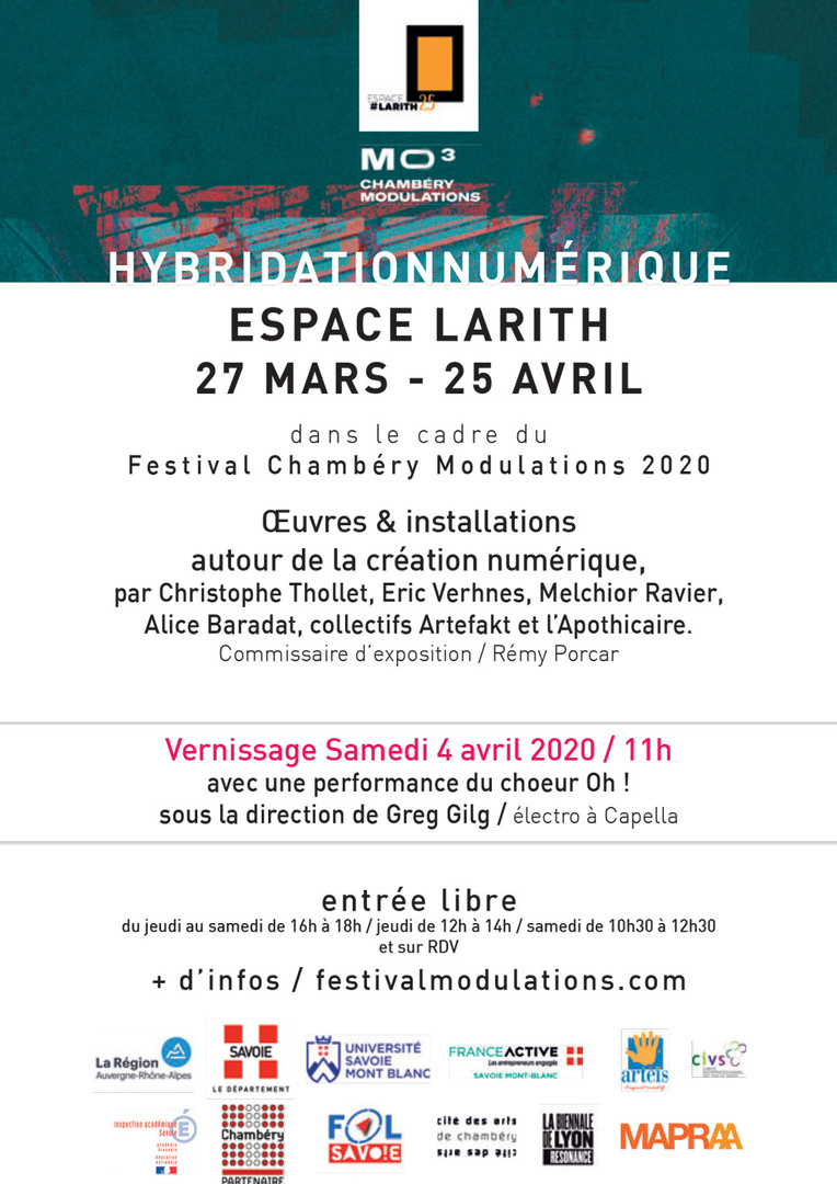 Hybridation numérique - Espace Larith 2020