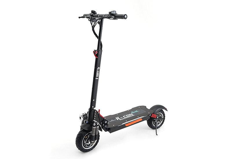 E6-DUAL  Dual-motors 10 Inch light weight folding e scooter