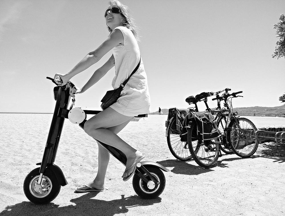 Sunmax classic elecgric scooter with patented, best seller for years.