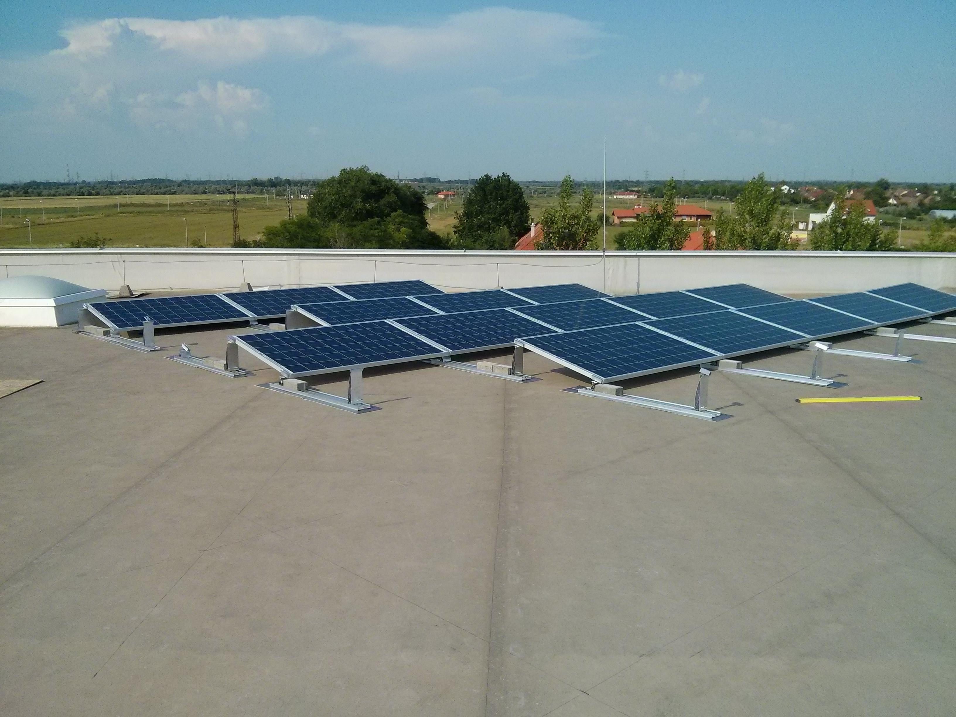 Szeged, Szeplaszt 20 kW napelem