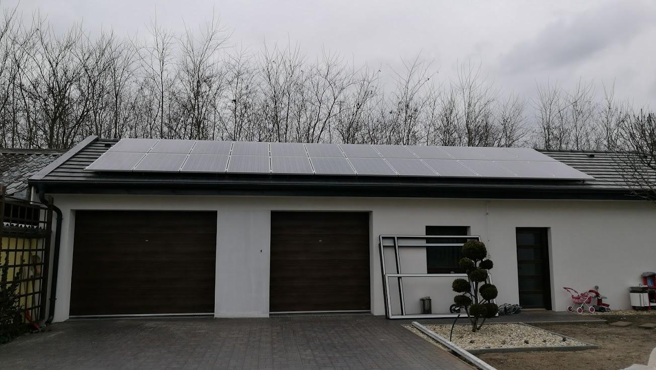 Soltvadkert, Napelem 6 kW