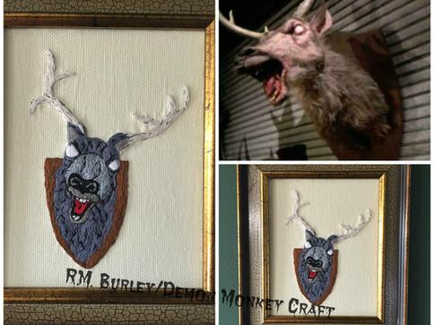 Demonic Possession of a Deer
