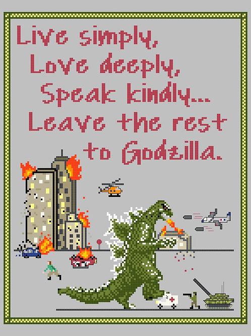 Godzilla Sampler, Digital Pattern!