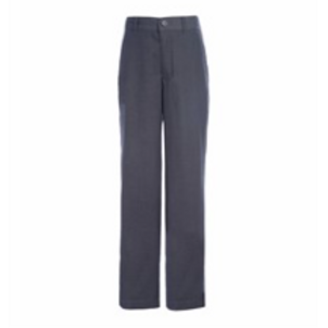 Grey Relaxed Fit Twill Pants
