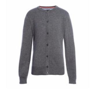 Grey Cardigan Sweater