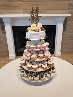 The Holy City Cupcakes Tower