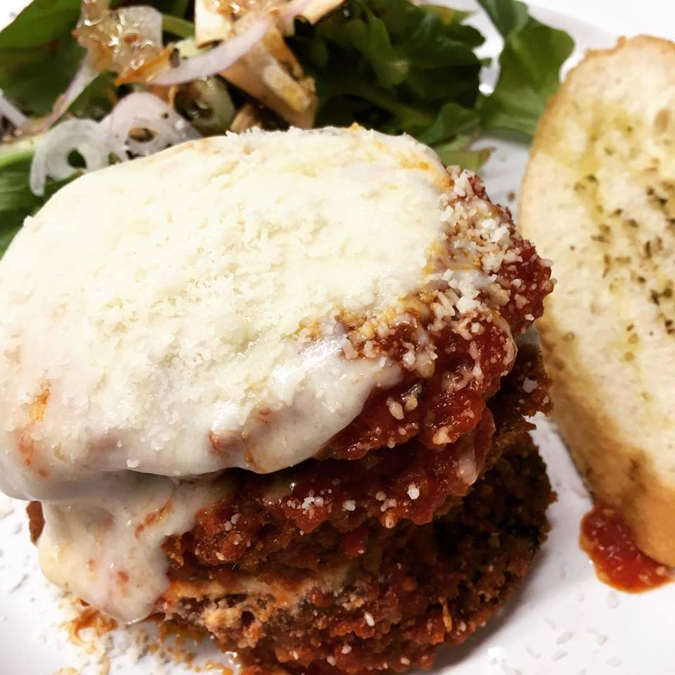Two Fat Olives Eggplant Parm
