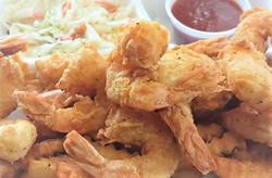 Cast Iron Fried Shrimp