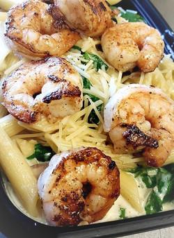 CastIron Grilled Shrimp