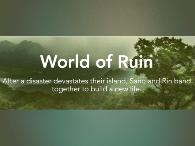 World of Ruin (fiction, dystopian)