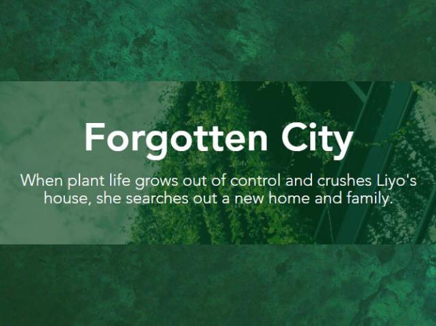 Forgotten City (fiction, magical realism)
