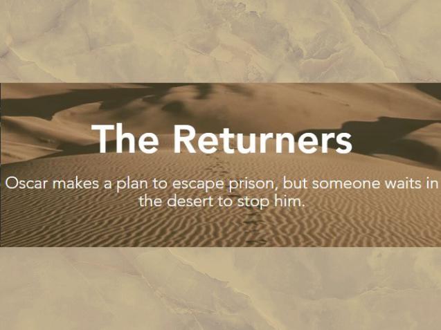 The Returners (fiction, suspense)