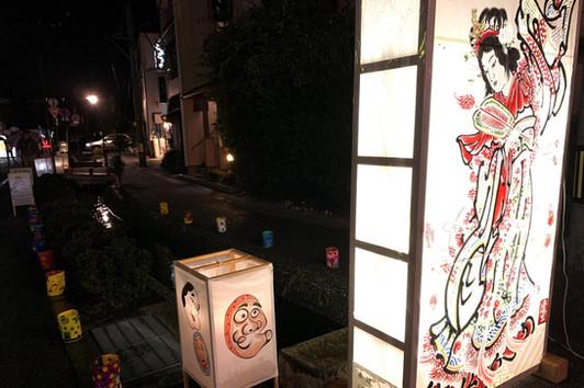 20190928広瀬川行燈夜祭